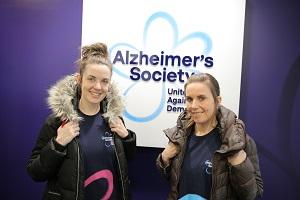Charity duo unite against dementia in Everest adventure