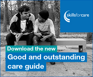 Skills for Care's 'Good and outstanding care guide' helps providers improve their CQC rating