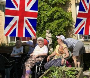 The 'Big Dig' – Residents Celebrate VE Day at Dronfield care homes