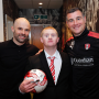 Dream comes true for Rotherham United fan as he meets team
