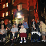 Heaton Moor care home lit up for poignant remembrance event