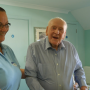 92-year-old Thomas learns to sing again at Hampshire care home