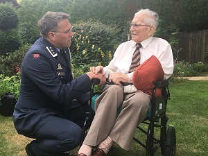 Peterborough naval veteran, 100, receives Norwegian Commemorative Medal  in honour of his service almost 80 years ago