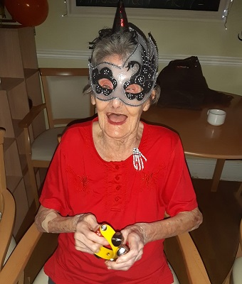 Community and residents join in Halloween fun at Midlands care home